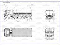 борт на Iveco Eurocargo - wb4150 MLL150E28WS+5,5м, без тента