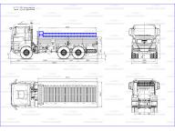 борт на Man TGS - wb3600 6м (баллоновоз), без тента
