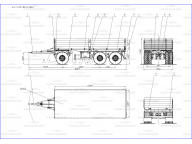 борт на TAB 3 осный - двухскатный ПБ 20-31Д-6 BPW, без тента