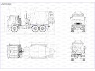 бетоносмеситель на Камаз 43118 - 3049 -46 6ДА, автономный ДВС