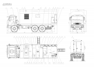 фургон на Камаз 43118 - 3027 5d4 вахта 22 IVECO Eurocargo MLL150E28WS+ф5500 (22 места), АРС