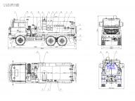 вакуумка на Урал 5557 - 4112-xx 10 ОДМ; ВК-6М2Н, АКН