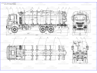 сортиментовоз на Iveco Trakker - wb4900 MLC 6м+Loglift F95, КМУ на заднем свесе